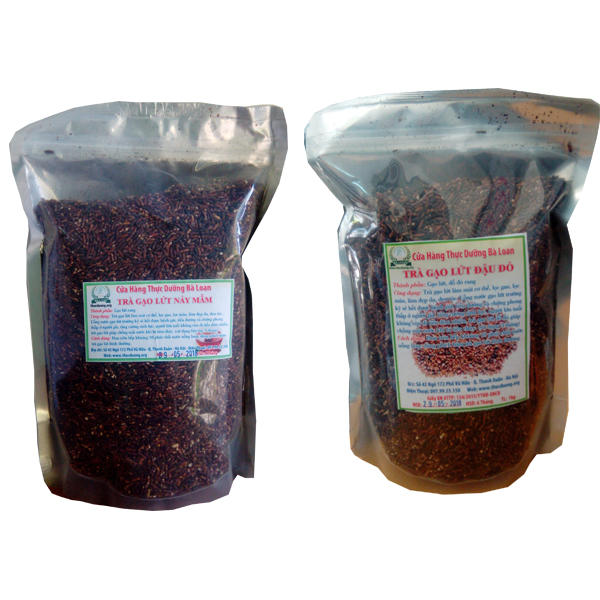 Trà gạo lứt đậu đỏ