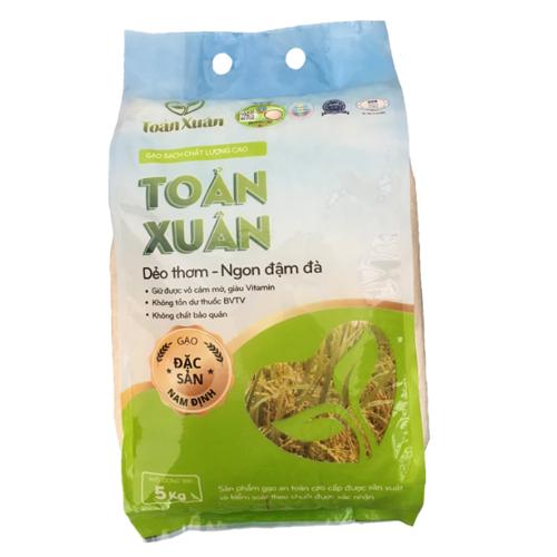Gạo trắng bắc thơm Nam Định