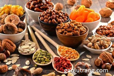 Ăn các loại hạt có béo không?